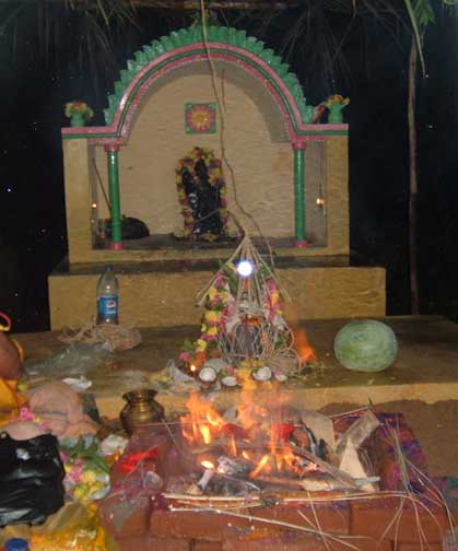 Sre Harishchandra Temple with Consecration rituals